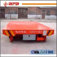 China CE ISO Certificate Self Propelled Electric Rail Transport Bogie on sale