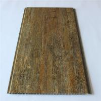 Wooden Color Wood Plastic Composite Decking Floor For Wall Ceiling Manufactures