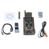 China MMS / Email SMS Control 3G SIM Card Infrared Wildlife Camera With Motion Sensor on sale