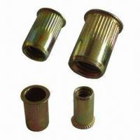 Blind Rivet Nuts, Made of Steel, Stainless Steel, Copper, Aluminum and Other Alloy Manufactures