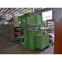 Waste Paper Recycle Used Paper Egg Tray Machine / Automatic Paper Pulp Egg Tray Production Line Manufactures
