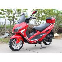 Four Colors Gas Moped Scooter With Windshield CVT , Fast Speed Motor Scooter 150cc Manufactures