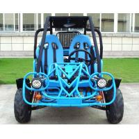 250cc Go Kart Buggy Double A Arm / Single A - Arm With CVT Reverse / Road Tyre Manufactures