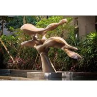 Public Outdoor Bronze Sculpture , Decorative Modern Bronze Garden Ornaments Manufactures