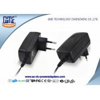 Low Ripple CE GS ROHS Approved EU Plug 12V 1A AC DC Power Adapter For Acoustics Manufactures
