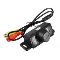 HD Night Vision License Plate LED Rear View Camera For Car / Waterproof