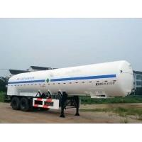 20000L-2 Axles-Cryogenic Liquid Lorry Tanker for Liquid Oxygen Manufactures