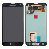 For Samsung Galaxy S5 SM-G900/G900A/G900V/G900P/G900R4 LCD and Digitizer Assembly with Home Button - Black - Grade A+ Manufactures