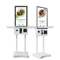 China Restaurant Touch Screen Display Self Service Payment Kiosk Machine on sale