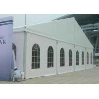 Environmentally 20m Outdoor Event Tent Fabric Structure For Exhibition Manufactures