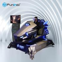 1 Player Dynamic 9D Virtual Reality Simulator , Arcade Racing Car Game Machine Manufactures