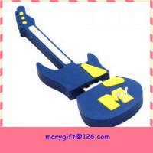 customized guitar shape Usb Flash Memory Manufactures