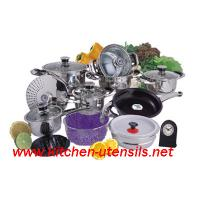 China 17 PCS S/S lid 202/304 stainless steel cookware sets,UTENSILIOS,PANELAS on sale