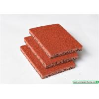 Polyurethane Synthetic Rubber Running Track Flooring For Sports Non-toxic Manufactures