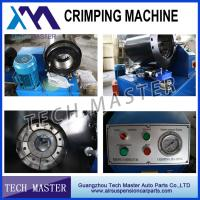 Quality Mercedes BMW Audi Land Rover Hydraulic Hose Crimping Machine High Performance for sale