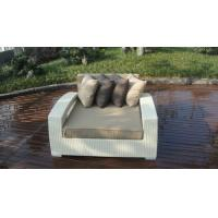 Outdoor Rattan Furniture Lounge Sofa , Luxury Conservatory Sofa Bed Manufactures