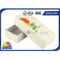 Logo Printed Custom Rigid small paper gift boxes for Setup With Lift Off Lid Manufactures