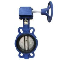 WESDOM Worm Gear Operated Butterfly Valve-DN50-DN200-Ductile Iron Manufactures