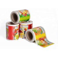 Printed Laminating Plastic Roll Film Packaging Roll Film Aluminum Foil Roll Of Film Manufactures