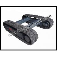 China hot sell rubber track chassis on sale