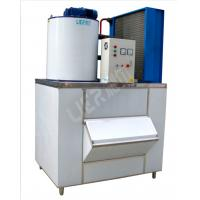 8.8KW SUS304 Sea Water Flake Ice Machine For Sea Food Process LR-2T Manufactures