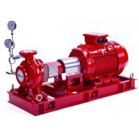 Buy cheap NM Fire UL / FM 500 GPM Electric End Suction Fire Pump with Eaton Control Panel from wholesalers