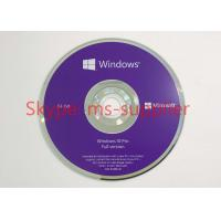 English Version Windows 10 ProOEM Pack Computer System With 64 Bit DVD Manufactures