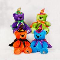 12inch Halloween Teddy Bear Stuffed Plush Toys For Promotion, Soft Toys Manufactures