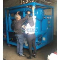 Fully Enclosed Type Vacuum Processing Dielectric Oil Filtration Machine Dewater and Degas from Oil Manufactures