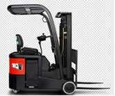 Three wheel Electric Reach Truck with Duplex 3m Standard Mast Manufactures