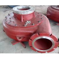 High Performance Mining Slurry Pump Diesel Mud Pump Hard Metal / Rubber Matrial Manufactures
