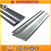 Silver / Champagne Anodized Aluminum Extrusion Profiles For Industrial Manufactures