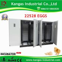CE Approved large size chicken eggs hatching incubator for 22528 eggs for sale Manufactures