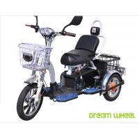48V 350W/500W Electric Mobility Scooter , 3 Wheel Electric Bike For Two Passengers