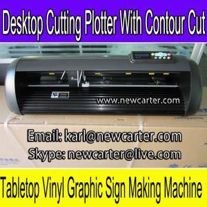 China HW630 Vinyl Sign Cutter Plotter Contour Cutting Plotter Adhesive Vinyl Letter Cutter 24'' on sale