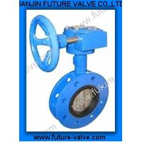 China U-section Wafer Type Flanged Butterfly Valve on sale