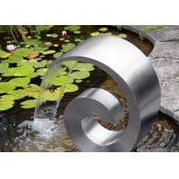 China Modern Style Stainless Steel Cascade Water Feature For Home Decoration on sale