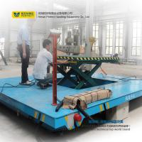 China Customized Warehouse Carts Material Handling Equipment With Scissor Lifting Table on sale