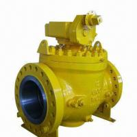 Top Entry Ball Valve with Trunnion-mounted and Fire Safe, 150 to 2,500lbs Pressure Manufactures