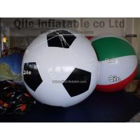 football  Large Helium Balloons Commercial Inflatable Products Helium Gas Balloon Manufactures