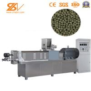 SLG65 Feed Extruder Machine , Pellet Extruder Machine Production Line Siemens Motor Manufactures