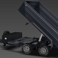 Tipping Trailer Single Acting Hydraulic Telescopic Cylinder Chrome 2 Stage 3 Stage 4 Stage 5 Stage 6 Stage Manufactures