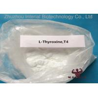 Natural Pharmaceutical Powders L Thyroxine T4 For Fat Weight Loss CAS 51-48-9 99.3% Purity Manufactures