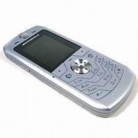 China Motorola L6 Unlocked Quad Band Mobile Phone with VGA Camera, Supports Java, Available in Silver on sale