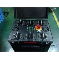 Military Waterproof Convoy Vehicle Bomb Jammer Full Band Frequency RF WIFI Cell Phone Signal Jammer Manufactures