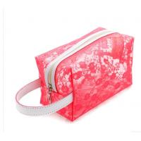 China OEM Clear PVC Cosmetic Bag , Makeup PVC Toiletry Bag For Women on sale