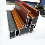 Wooden Grain Aluminium Profile for Extrusion Aluminium Manufactures
