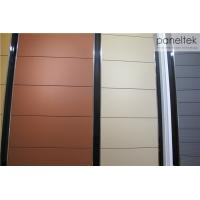 Classic Color Terracotta Facade Panels With Heat Preservation Function