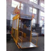 Operator Cab Construction Material Man And Material Hoist Dual Cage ISO for sale