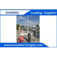 China Intelligent Parking LED Boom Barrier Gate 24VDC 430.5MHz With Auto Close on sale